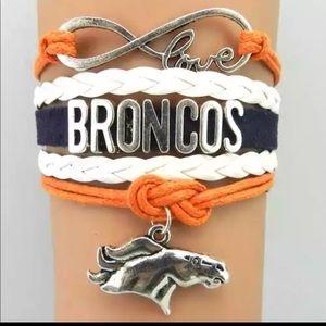Jewelry - Brand New Denver Broncos Custom Bracelet